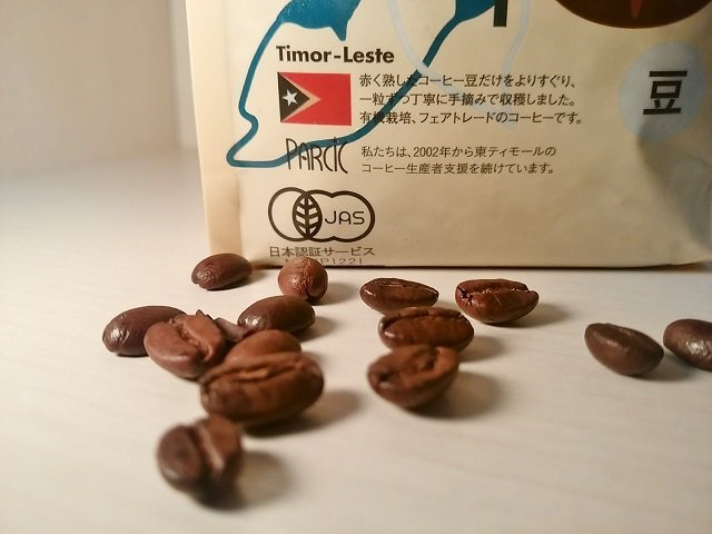 フェアトレード&クリア「Café Timor」