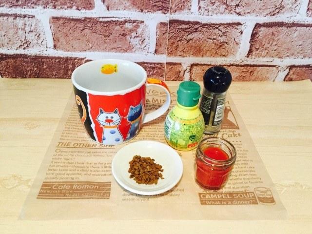 トマトコーヒー_材料