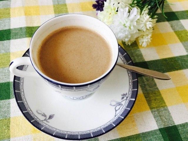 練乳コーヒー_完成(かきまぜる)