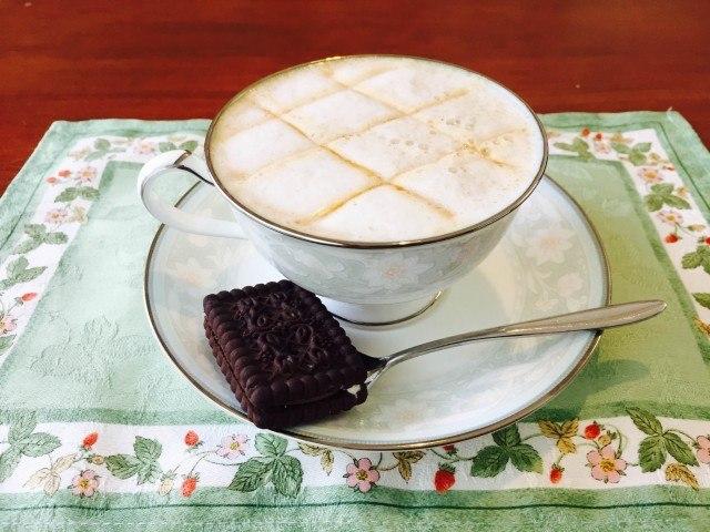 マロンラテの作り方【フレーバーコーヒーのレシピ】