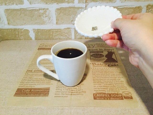 ドライトマトコーヒー_スパイスを加える