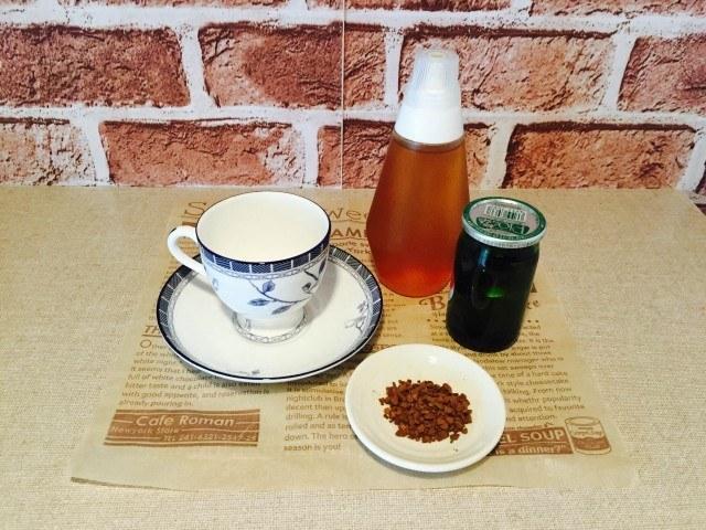 梅酒コーヒー_材料