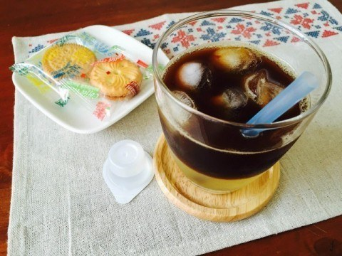 パイナップルゼリーコーヒー_完成