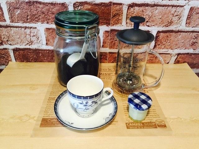 練乳コーヒー_材料
