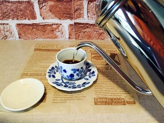 日本酒コーヒー_コーヒーを淹れる