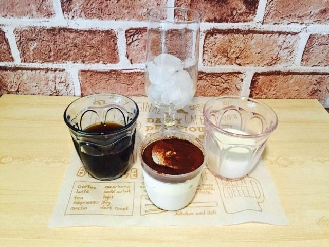 ティラミスコーヒー_材料