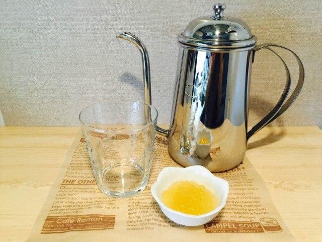 ラフランスコーヒー_材料