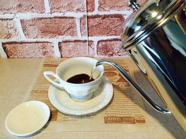 赤ワインコーヒー_コーヒーを淹れる
