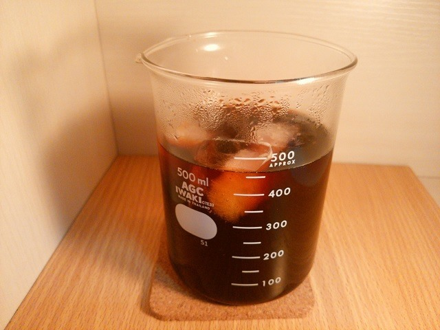 夏に飲みたいアイスコーヒーの淹れ方_直接冷却