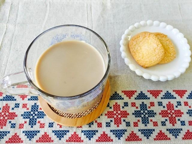 カシスミルクコーヒーの作り方【フレーバーコーヒーのレシピ】