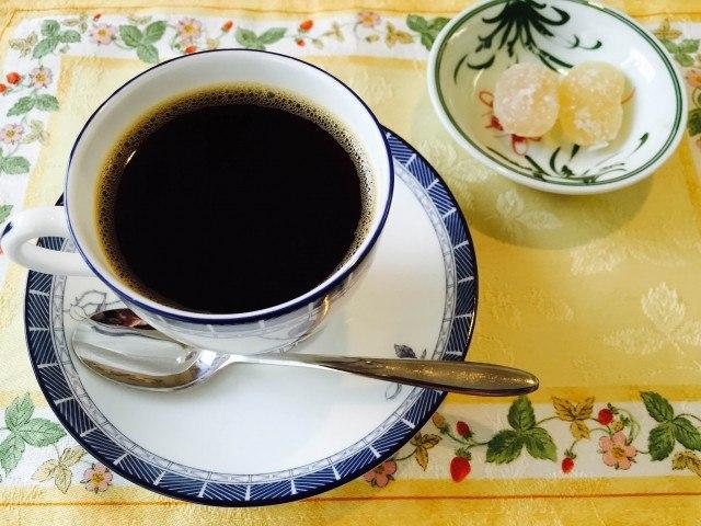 甘納豆コーヒー_完成