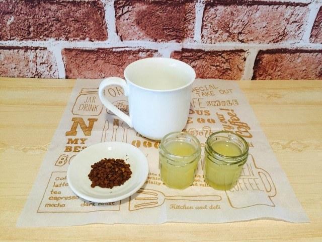 そば茶コーヒー_材料