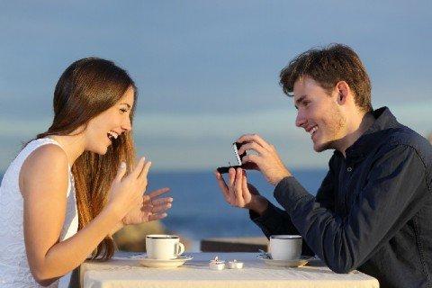 プロポーズにコーヒー豆を使う国がある