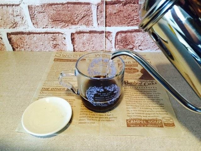 カシスコーヒー_インスタントコーヒーを作る