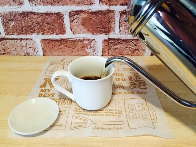 そば茶コーヒー_コーヒーを淹れる