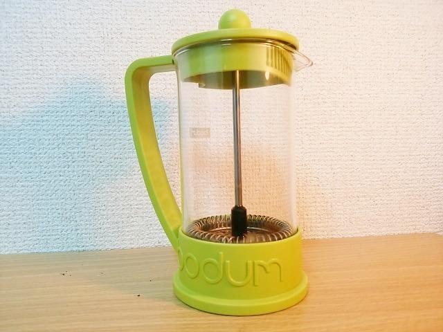 リフレッシュできるコーヒーの淹れ方_プレス