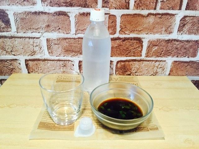 炭酸ミントコーヒー_材料