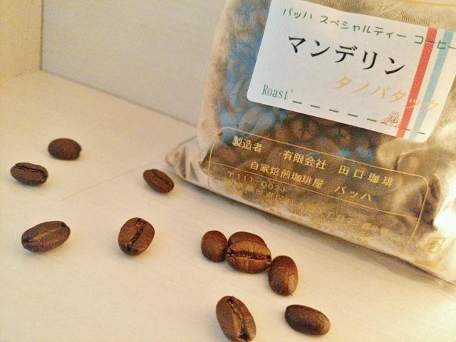 マンデリンタノバック‗豆