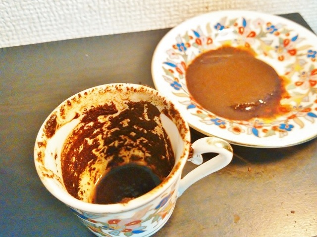 トルココーヒーの淹れ方_占い3