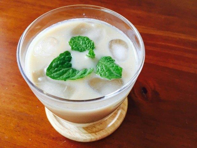 はったい粉ソイミルクコーヒーの作り方【フレーバーコーヒーのレシピ】