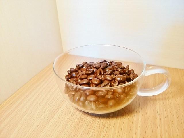 カップ&ソーサーの選び方_コーヒー豆