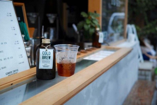 leaves coffee apartment_coldbrew