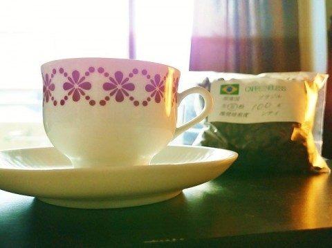 ブラジル カフェインレス サントス コーヒー