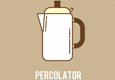 コーヒー抽出器具「パーコレーター」とは?