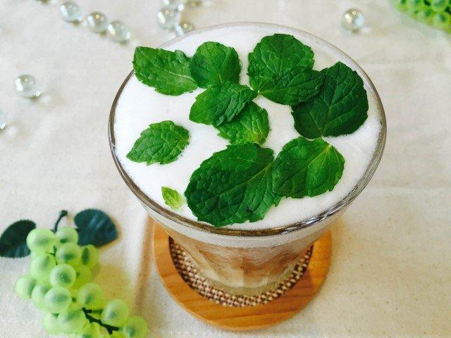 ミントミルクコーヒーの作り方【夏のアイスコーヒー】