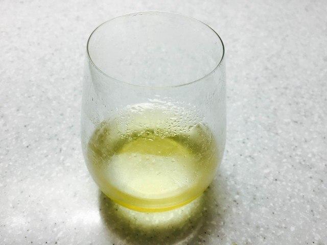 ミントシロップの作り方_完成