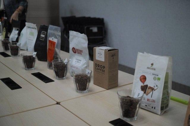 北欧コーヒー飲み比べ イベント_french press