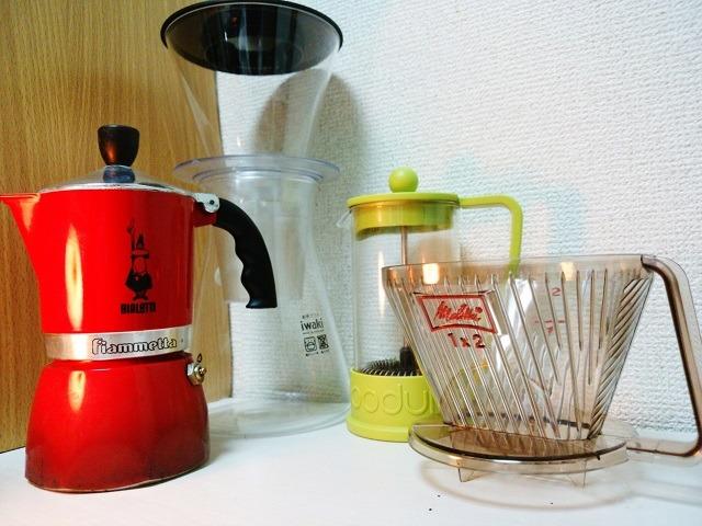 誰でもできる!簡単に美味しいコーヒーを淹れて飲める器具紹介