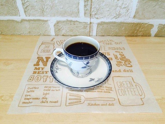 かぼすコーヒー_できあがり