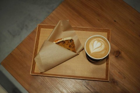 Jaho Coffee at Plain People cafe latte 480x320
