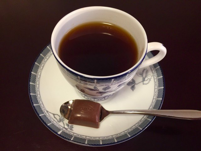 カフェーパウリスタ森のコーヒー完成