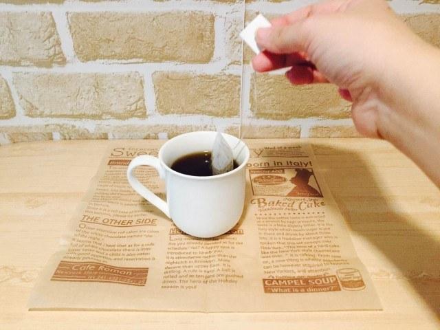 タンポポコーヒー_濃さを調節する