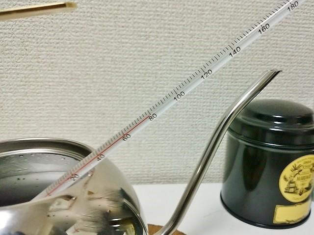 ドリップコーヒー_道具_温度