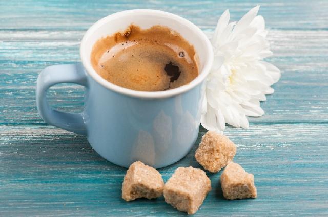 甘いコーヒー_砂糖
