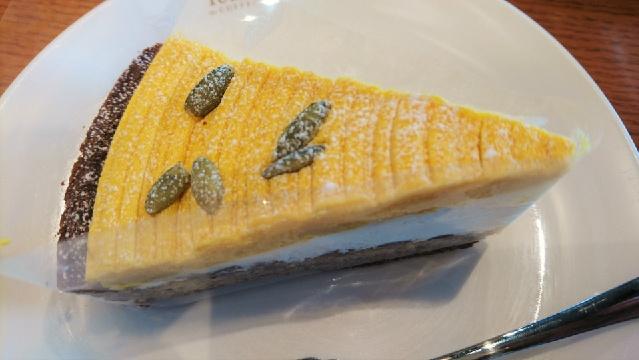 秋のお供3選_フードペアリング_カボチャのケーキ
