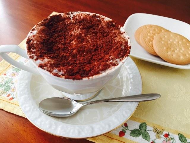 クリームチーズコーヒーの作り方【フレーバーコーヒーのレシピ】