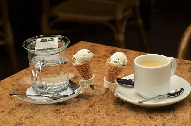 HOT&COLD!コーヒーとアイスクリームのペアリング