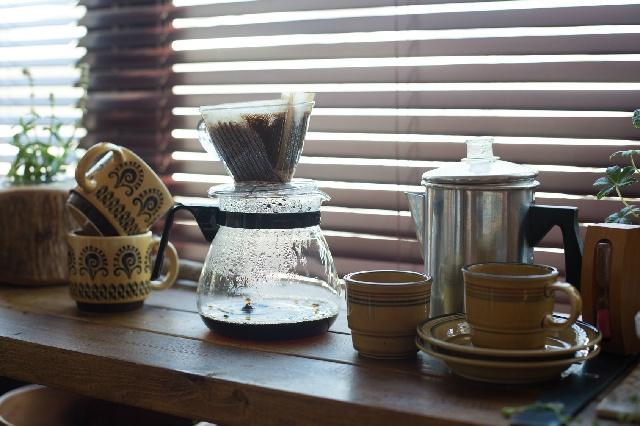 家でコーヒーをはじめるために必要なモノ