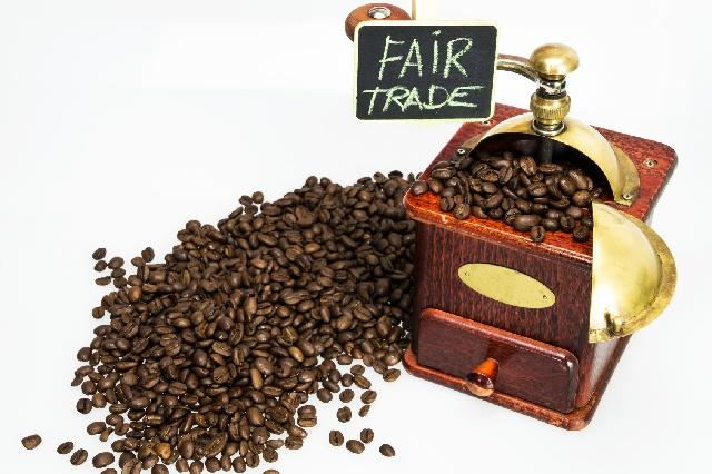 コーヒー豆_フェアトレード_コーヒーミル