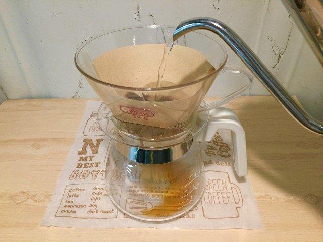 ノンカフェイン大豆コーヒー_抽出