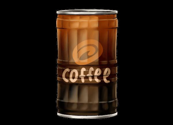 缶コーヒー デミタス缶