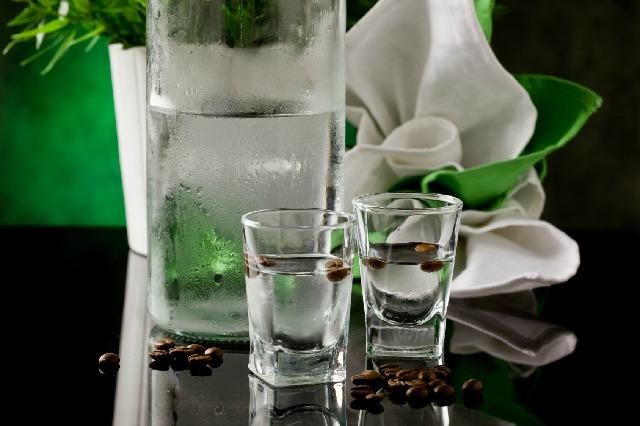 クリーンカップ_コーヒー豆_水