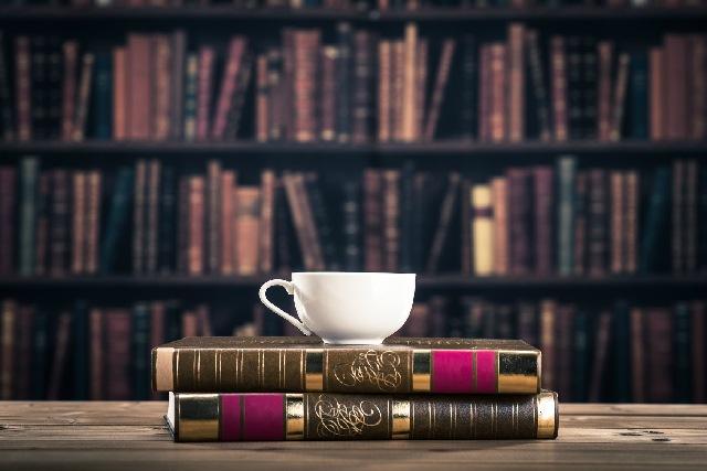 コーヒーカップ_読書_勉強