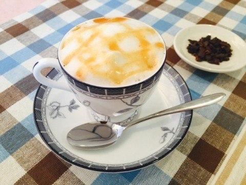 かぼちゃコーヒー アレンジ 完成 480x360