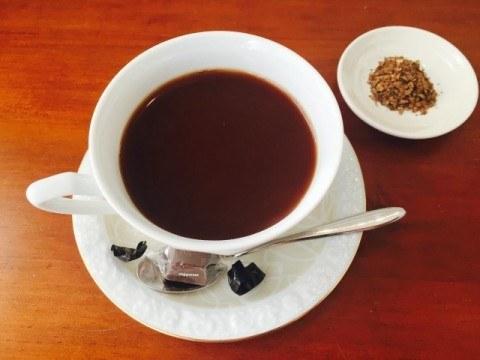 ごぼうコーヒー アレンジ 完成 480x360