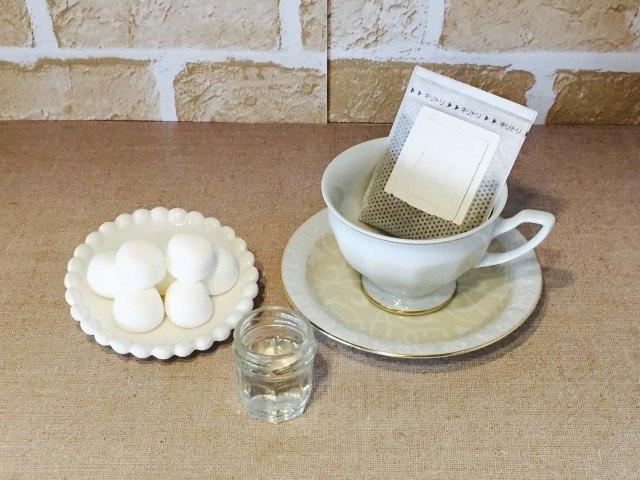 日本酒マシュマロコーヒー_材料